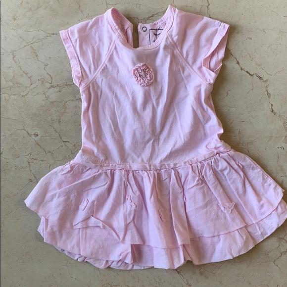Pink Short sleeve dress